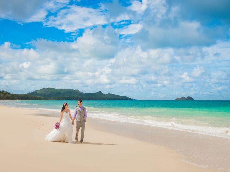Hawaii 'de Romantik Balayı