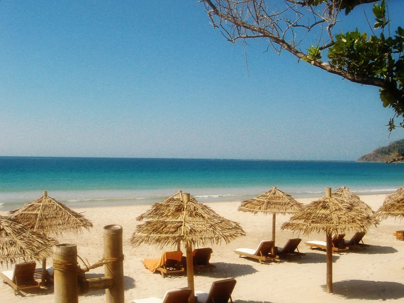 Myanmar 'da Harika Plajlar
